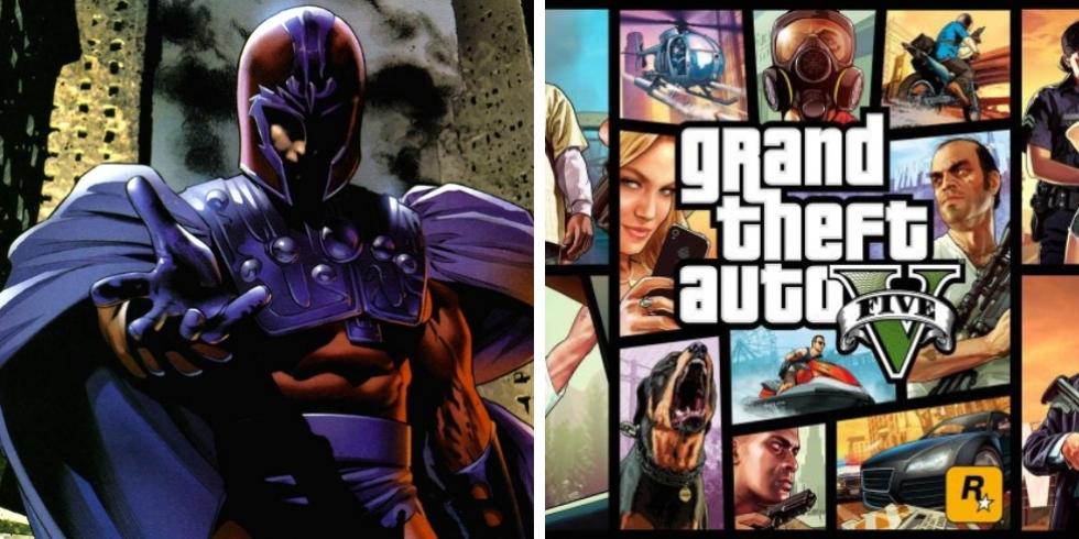 Magneto Grand Theft Auto V yhteiskuva