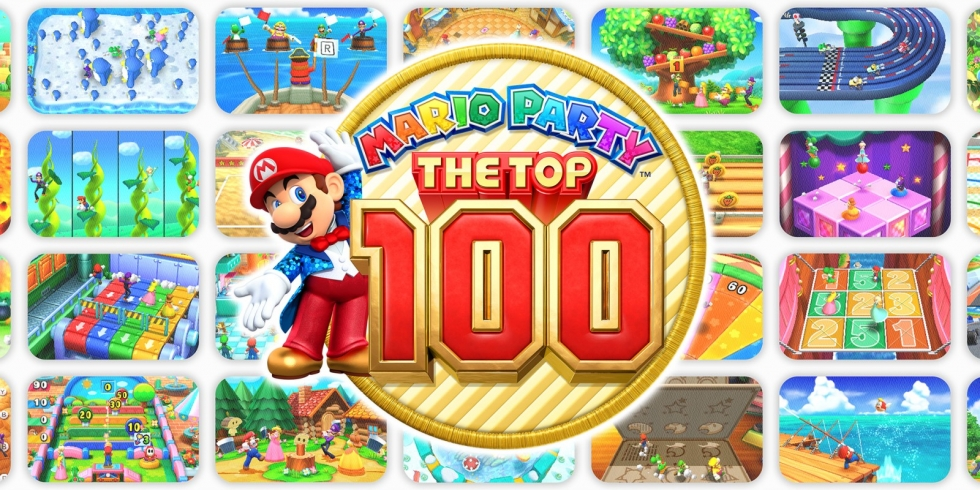 Mario Party The Top 100 kansi 3DS