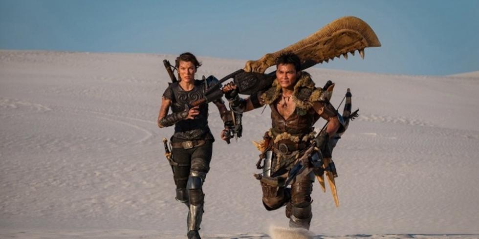 Monster Hunter elokuva Milla Jovovich