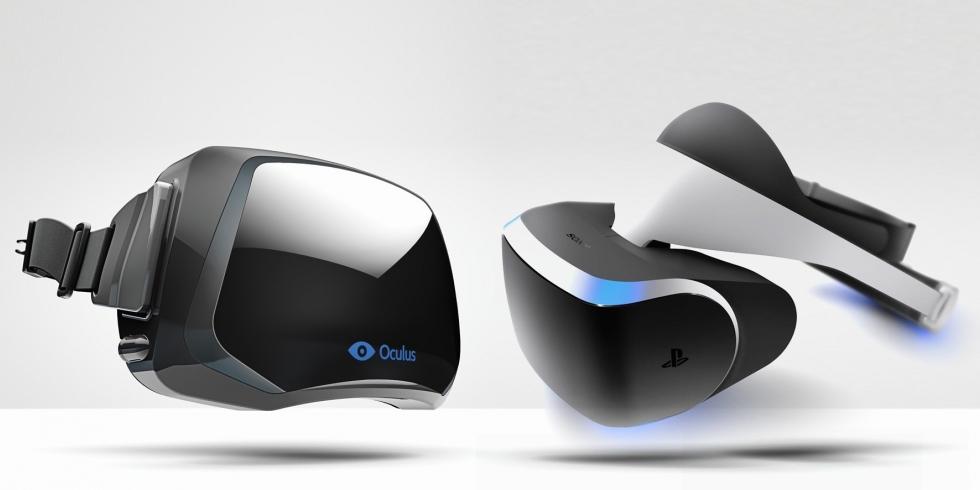 Oculus Rift ja Sony Morpheus