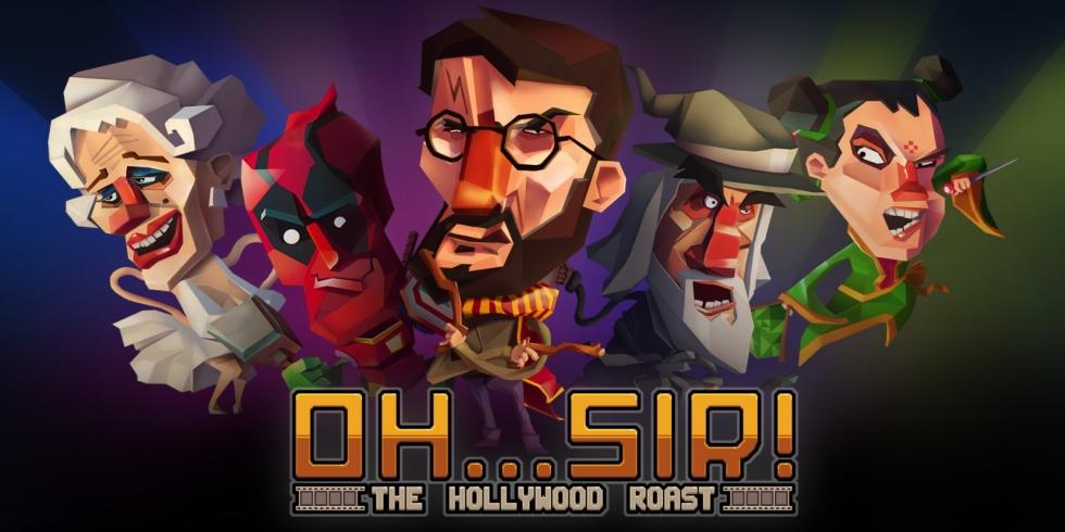 Oh...Sir! The Hollywood Roast kansikuva