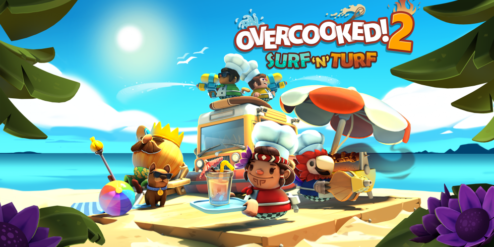 Overcooked 2 Surf n Turf lisäri dlc