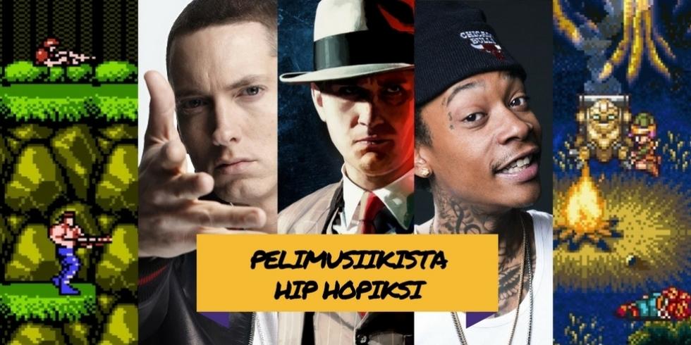Pelimusiikista hip hopiksi 2 kansikuva