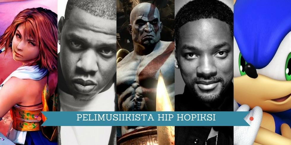 Pelimusiikista hip hopiksi 6 kansi