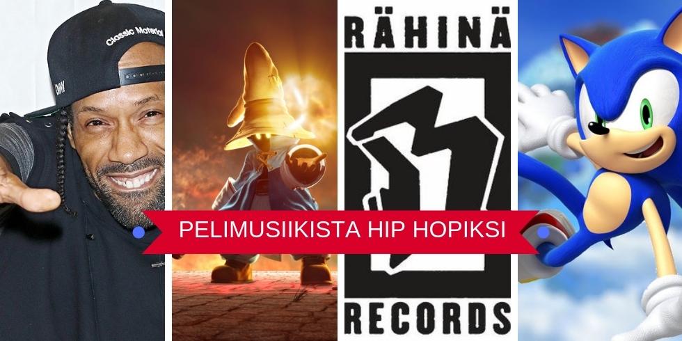 Pelimusiikista hip hopiksi banneri Redman Rähinä Sonic FFIX