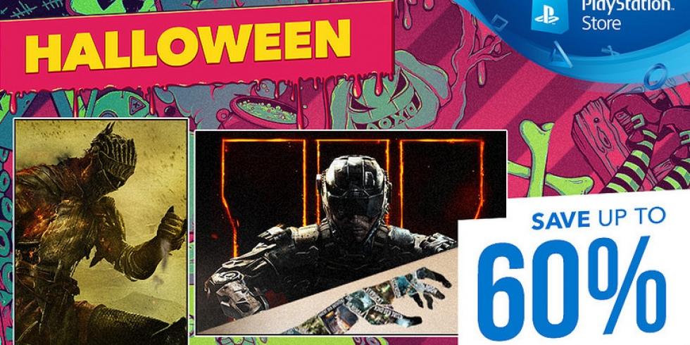 PlayStation Store halloween alennusmyynnit ale