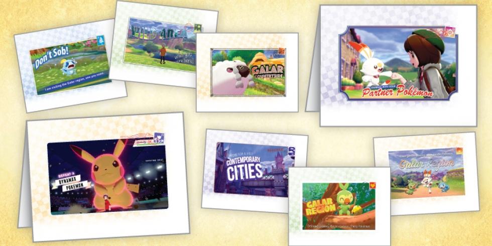 Pokemon postikortit