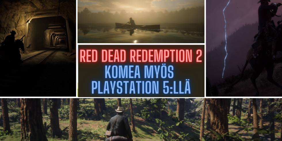 RED DEAD REDEMPTION 2 PlayStation 5:llä nostokuva