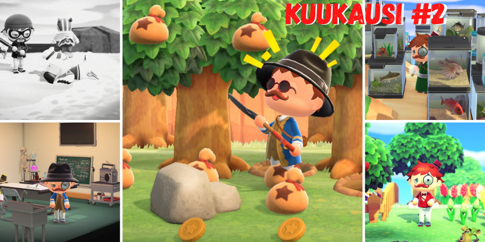 Animal Crossing: New Horizons toinen kuukausi Midgar-saarella