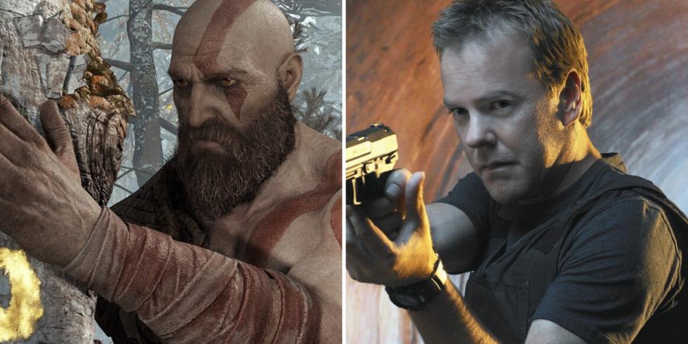 God of War Kratos 24 Jack Bauer