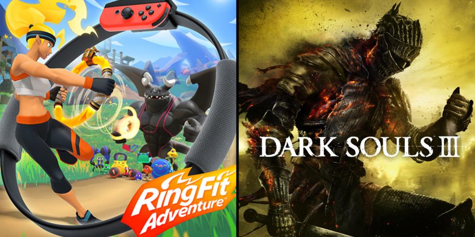 Ring Fit Adventure Dark Souls III