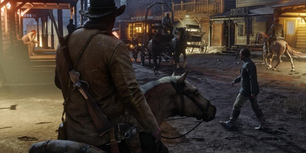 Red Dead Redemption 2 kylä
