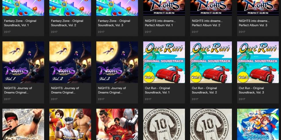 Valtavasti klassista SEGA-pelimusiikkia rynnisti Spotify-suoratoistopalveluun | KonsoliFIN ...