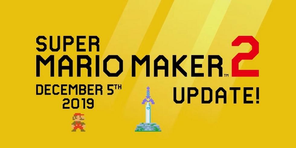 Super Mario Maker 2 versio 2 päivitys