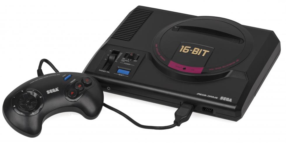Sega Mega Drive, konsoli ja ohjain