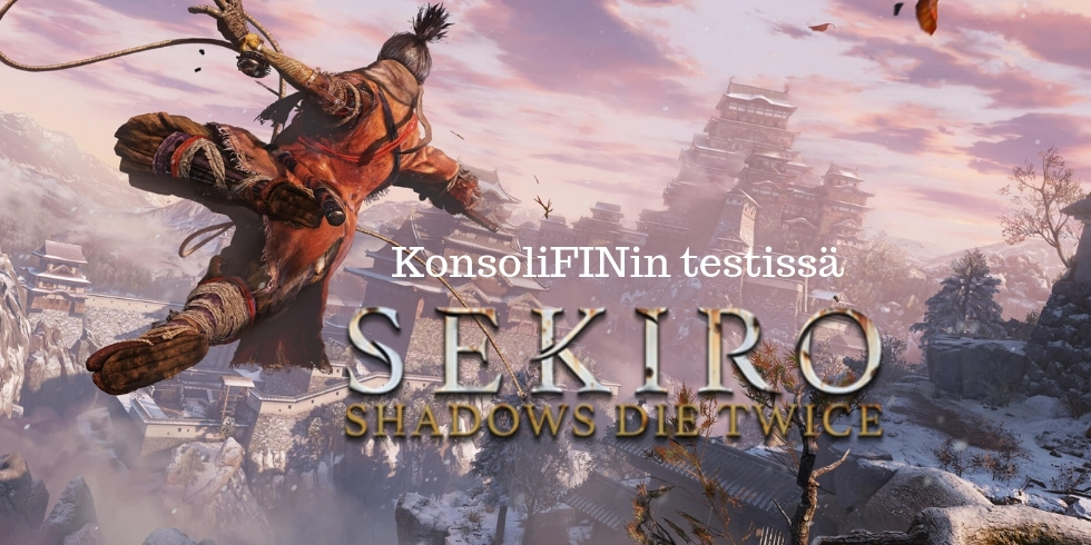 Sekiro Shadows Die Twice banneri nostokuva