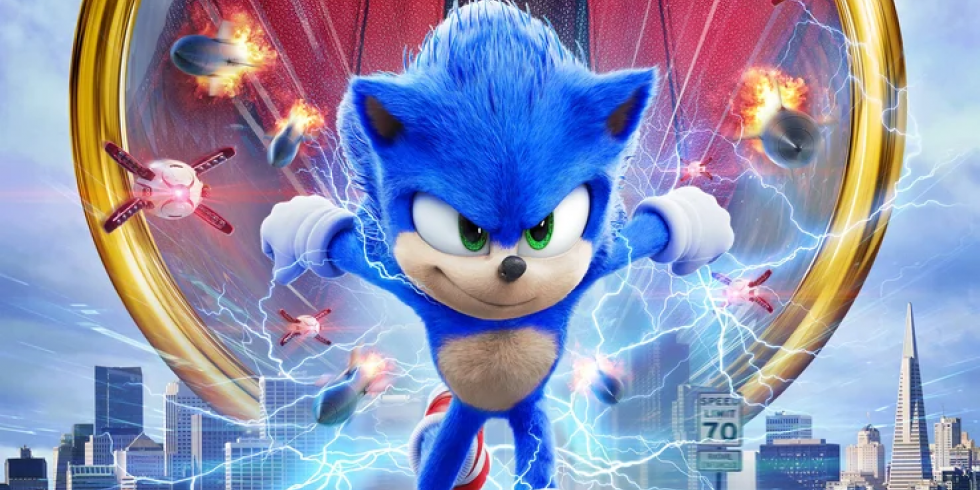Sonic the Movie uusi juliste