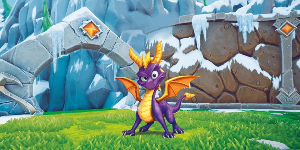 Spyro Reignited Trilogy promokuva