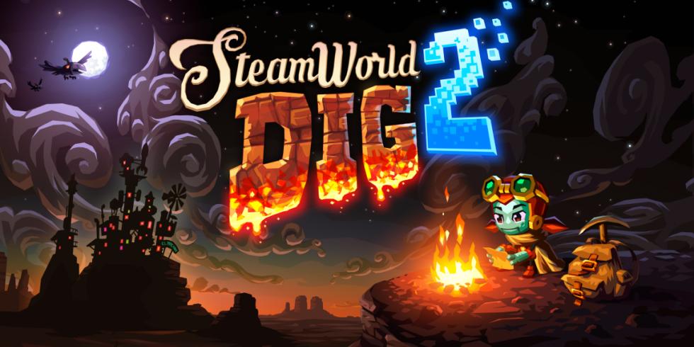 SteamWorld Dig 2 kansikuva