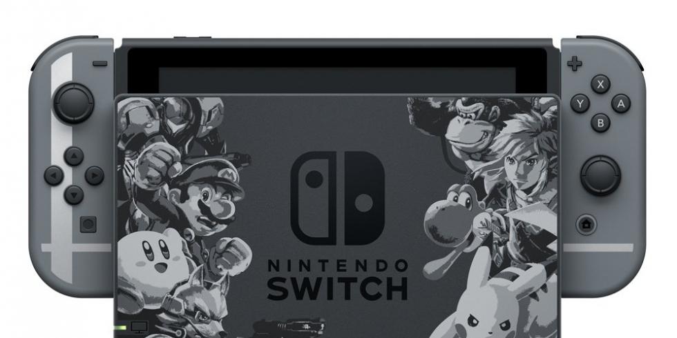 Super Smash Bros. Ultimate Switch-konsoli