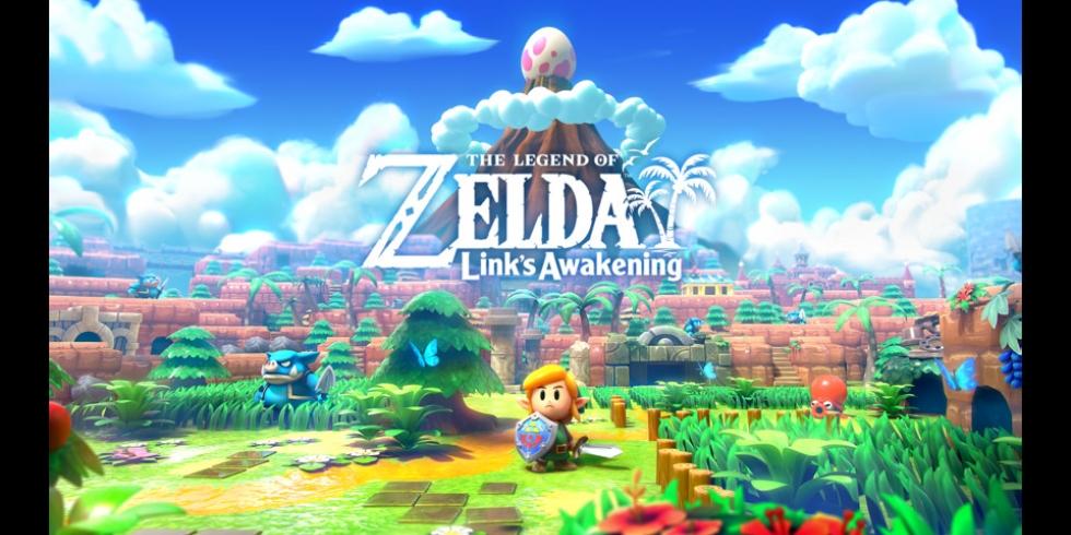 The Legend of Zelda Link's Awakening Switch taidekuva