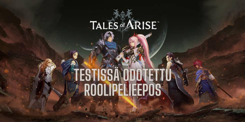 Tales of Arise testissä odotettu roolipelieepos