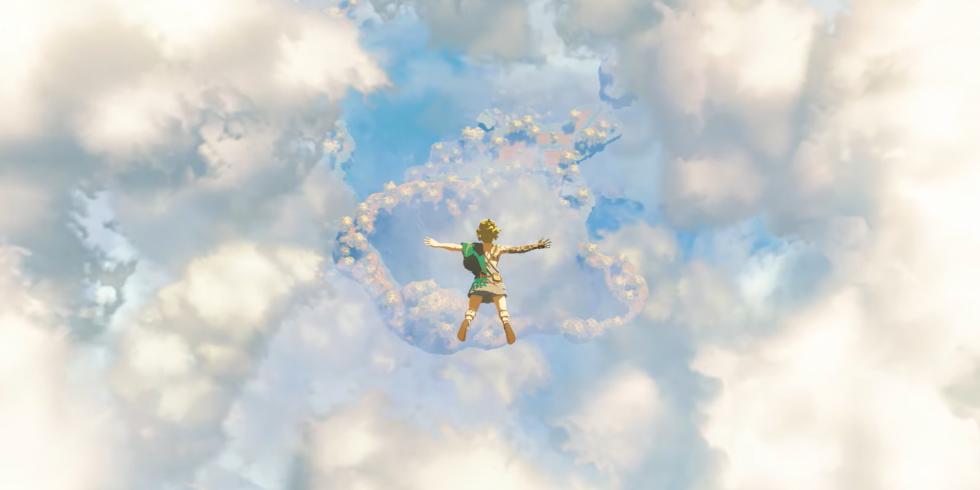 The Legend of Zelda Breath of the Wild -jatko-osassa vapaapudotaan korkealta