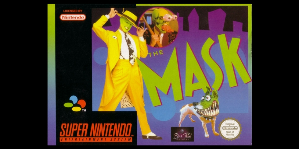 The Mask Super Nintendo kansi