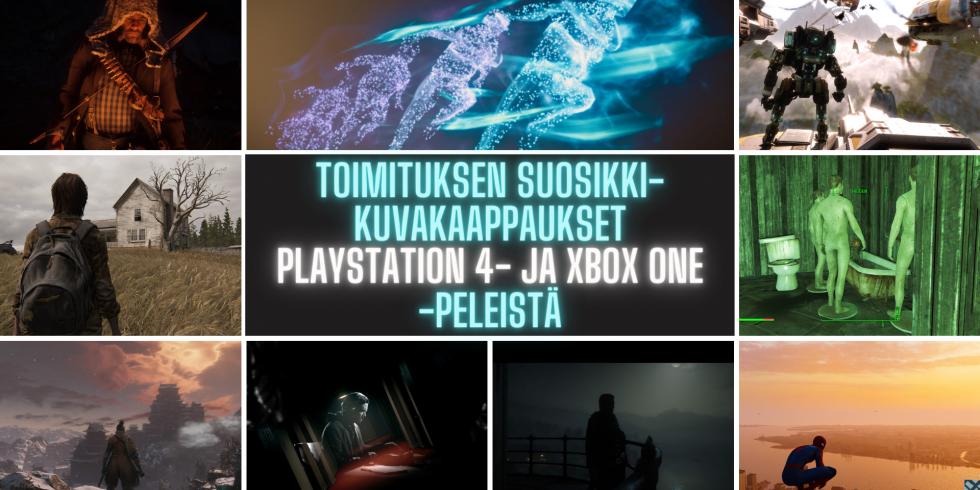 Toimitukset suosikkikuvakaappaukset PS4 ja XBOX ONE