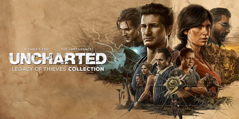 Uncharted Legacy of Thieves Collection nostokuva