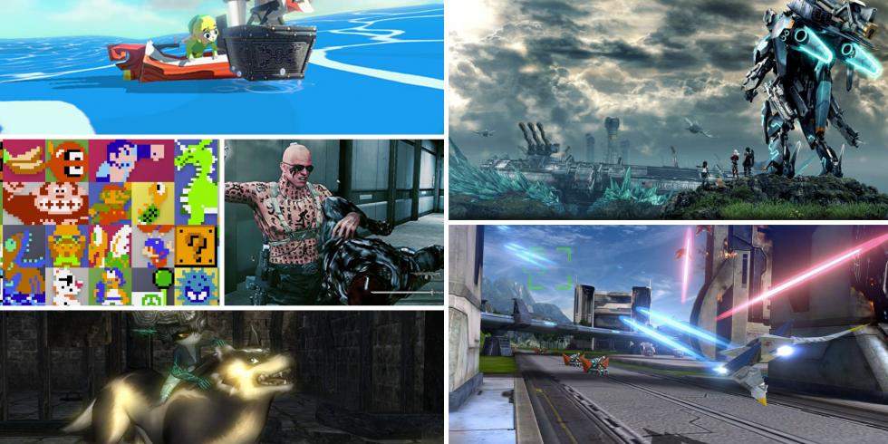Wii U -pelit Switchille vielä muutamia