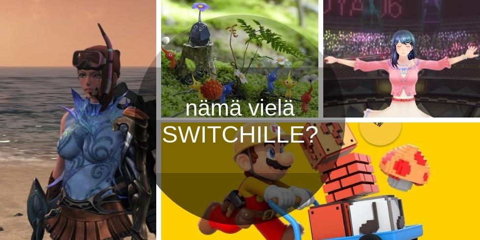 Wii U -pelit Switchille banneri