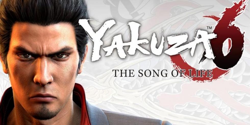 Yakuza 6 The Song of Life kansi banneri