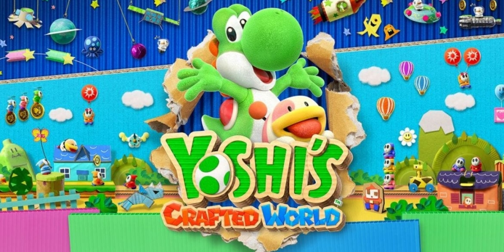 Yoshi's Crafted World Switch kansikuva