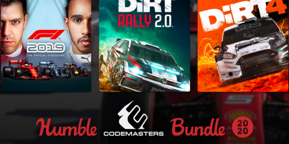 Humble Bundle Codemasters 2020
