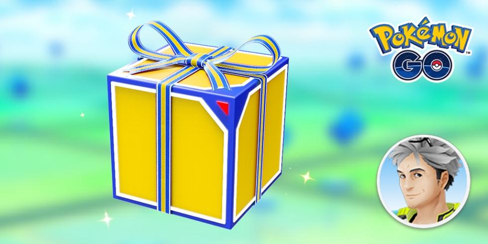 Pokemon GO daily box