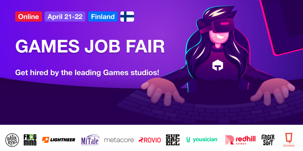 finland games job fair