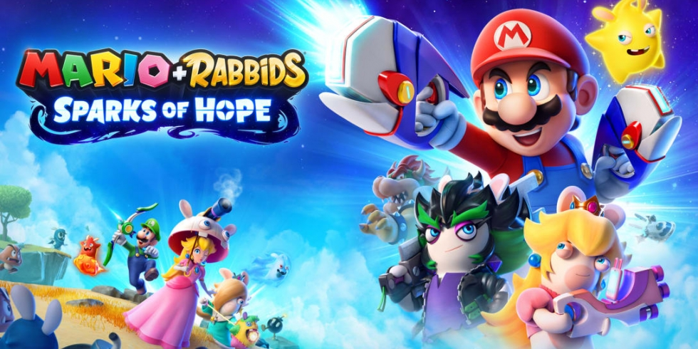 Mario + Rabbids Sparks of Hope nostokuva