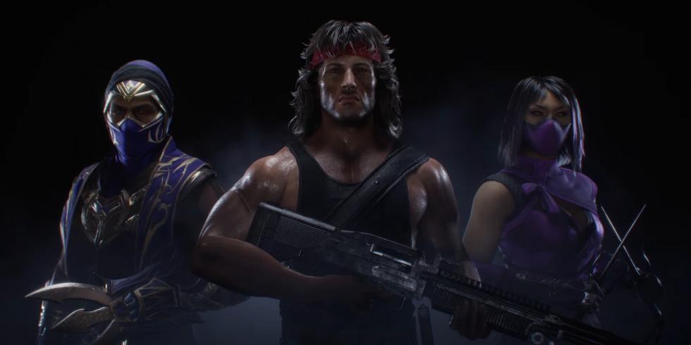 Mortal Kombat 11 Rambo Rain Mileena
