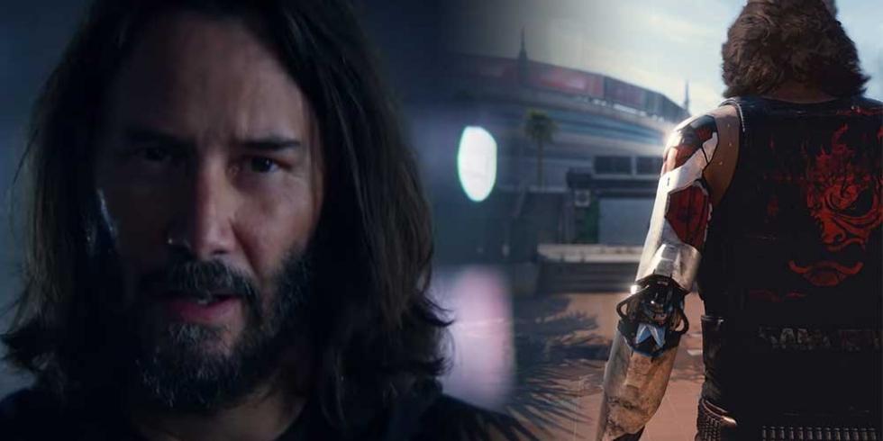 Cyberpunk 2077 Keanu Reeves