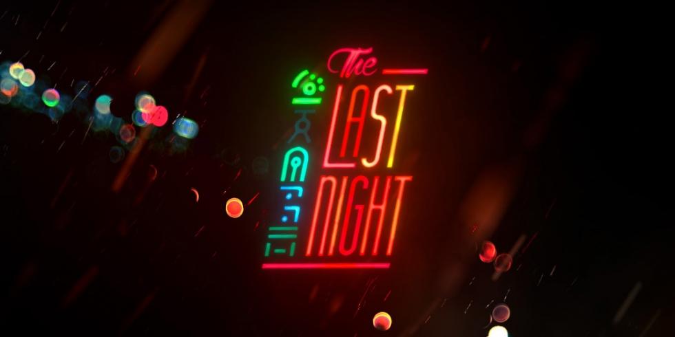 The Last Night logo nostokuva