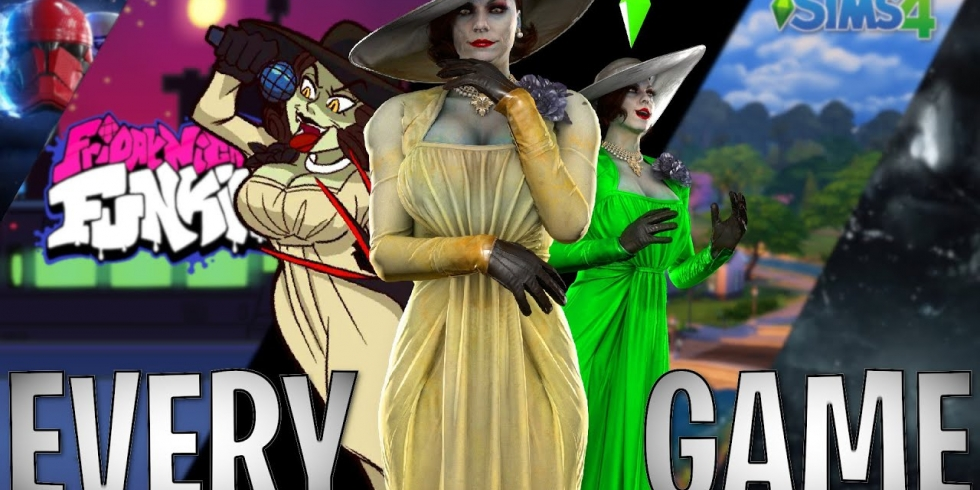 Resident Evil Villagen Lady modeissa