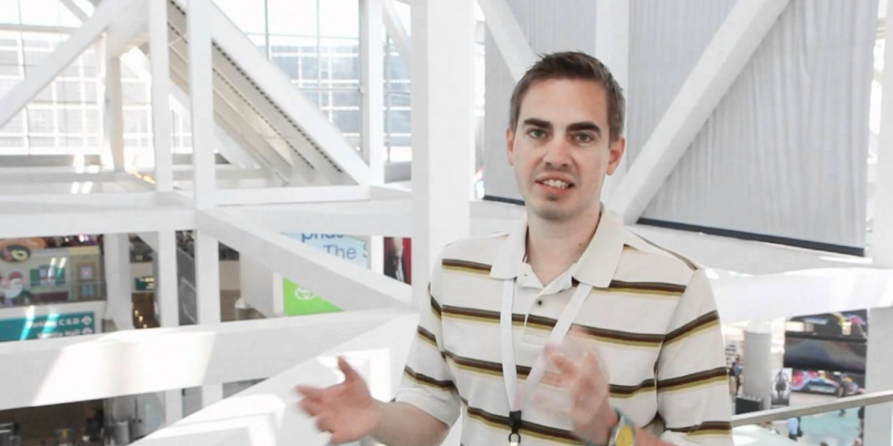 Thomas Puha E3-messuilla 2012