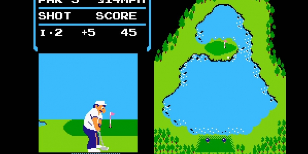 NES Golf Nintendo Switchissa