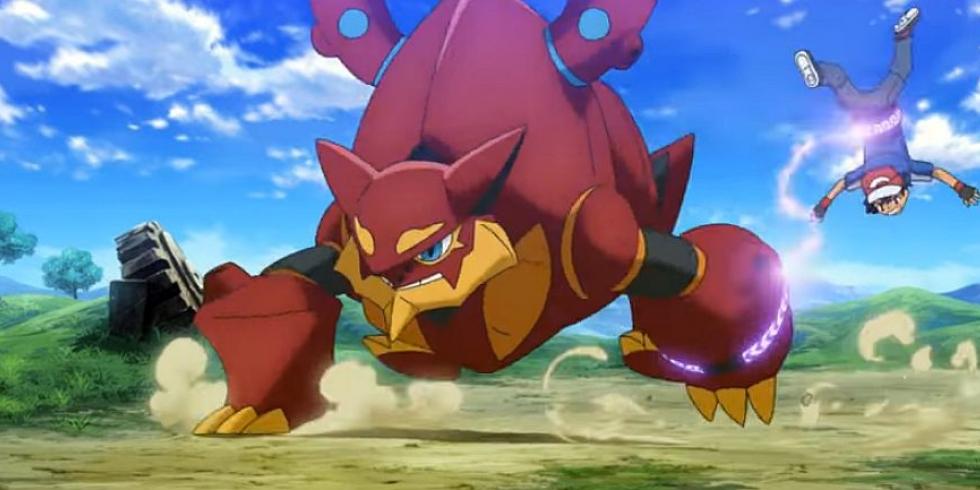 Pokémon elokuva Volcanion