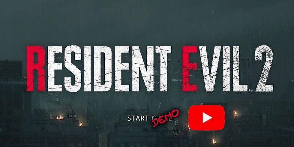 Resident Evil 2 Remake demo PC