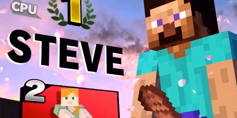 Smash Bros Steve