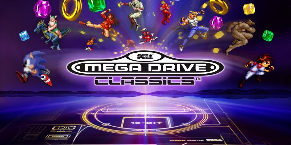 Sega Mega Drive Classics kansikuva