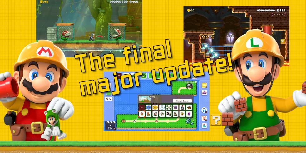 Super Mario Maker 2 viimeinen päivitys