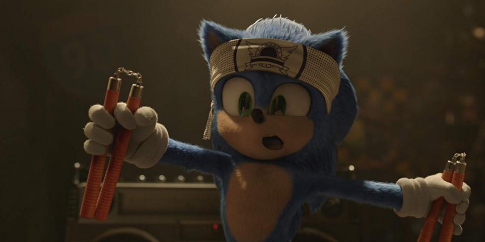 Sonic the Movie sankari ja tutulta näyttävä logo